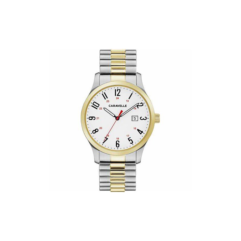 Caravelle Ladies Two-Tone Watch