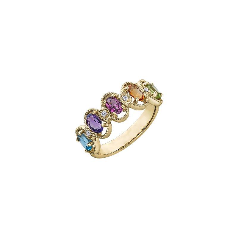 D of D Signature Multi Stone Ring