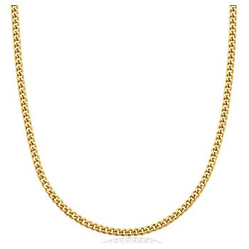 Cuban Chain Gold Tone