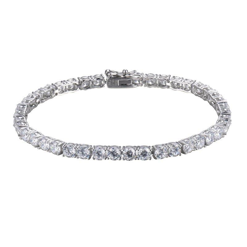 Reign CZ Tennis Bracelet