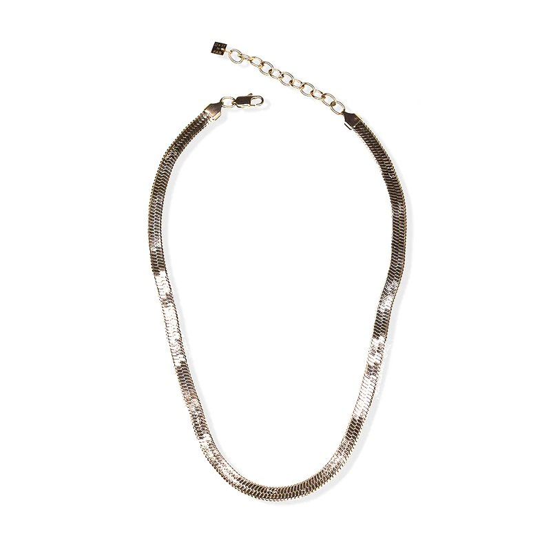 FAB Accessories PAOLA SERPENTINE NECKLACE GOLD TONE