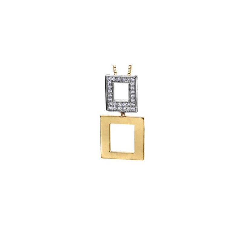 D of D Signature Diamond Pendant Necklace