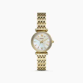 Mother of Pearl Gold Tone Watch