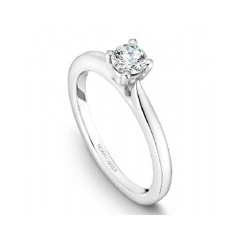 Round Brilliant Bridal Ring