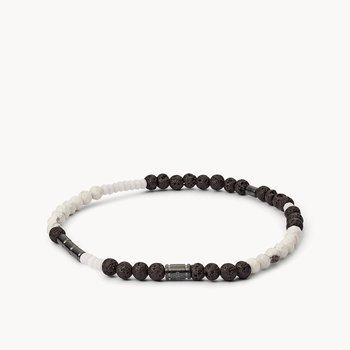 Men's Black/White Bracelet