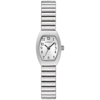 Ladies Caravelle Silver Expansion Watch