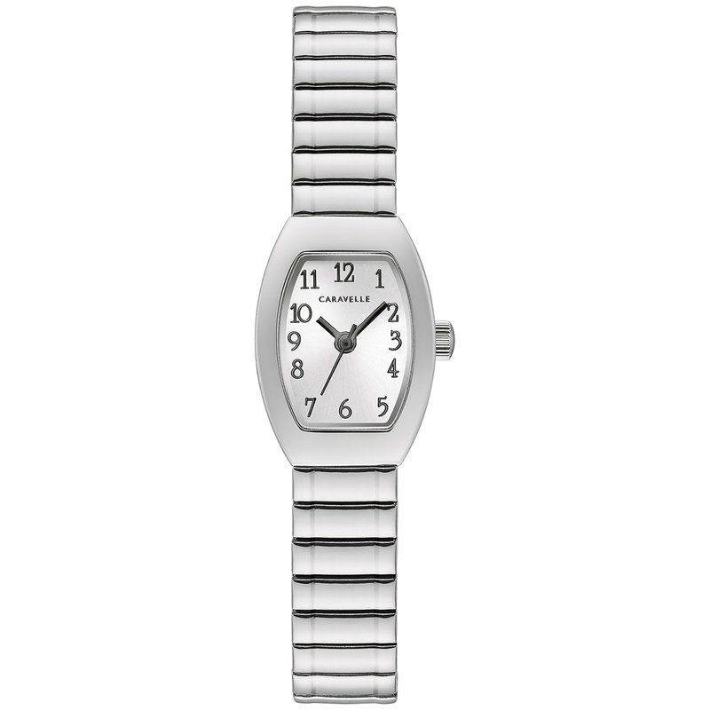 Caravelle Ladies Caravelle Silver Expansion Watch