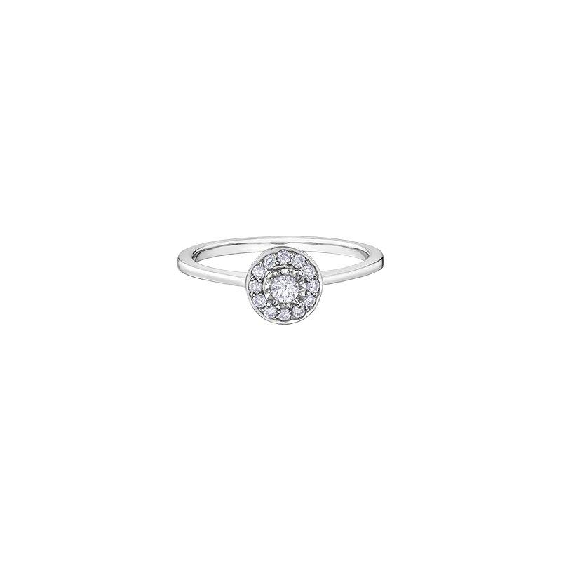 D of D Signature Round Brilliant Bridal Solitaire Ring