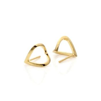"Gold ""Wrap"" Earrings"