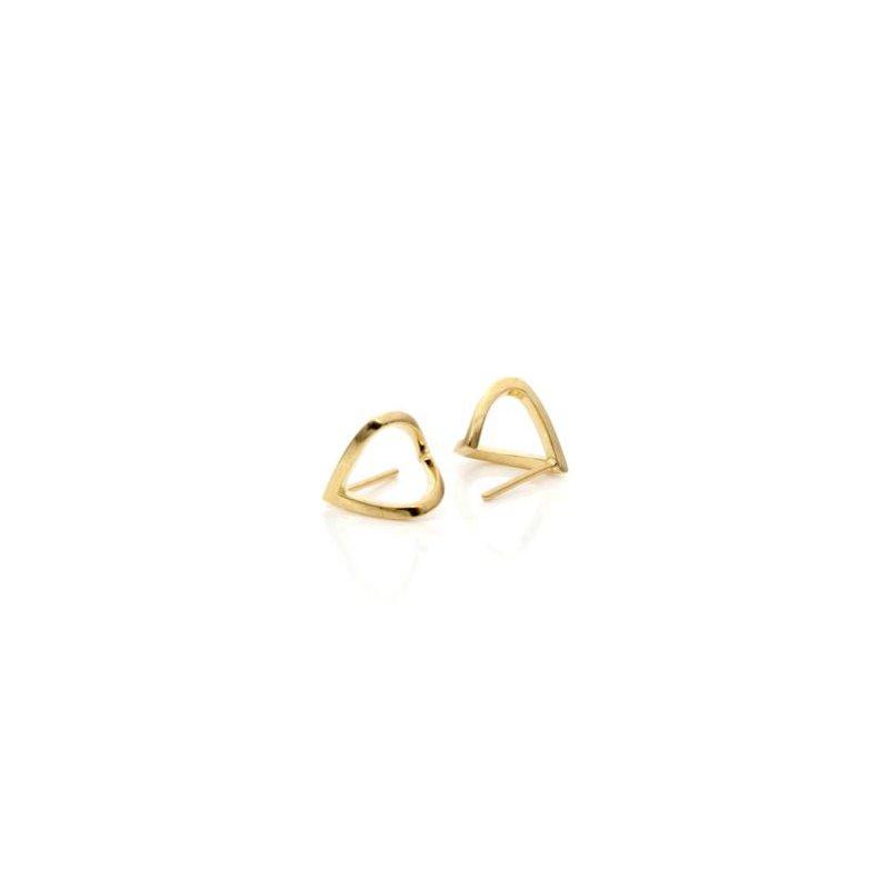 "eLiasz and eLLa Gold ""Wrap"" Earrings"