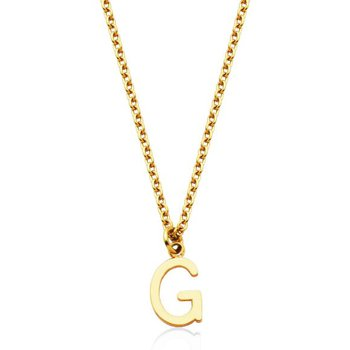 """""""G"""" Necklace"""