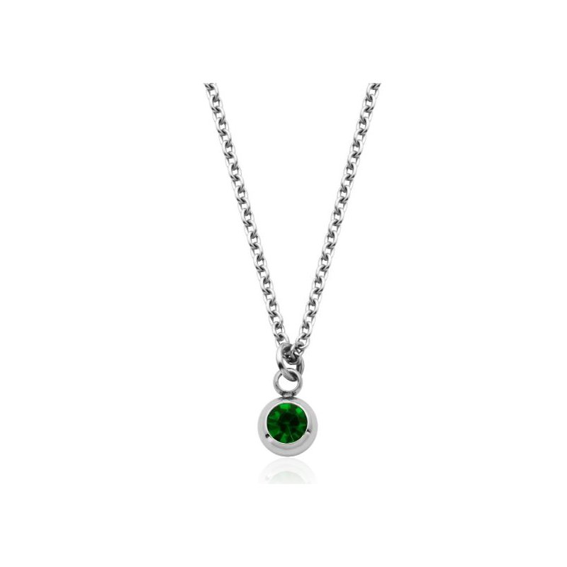 STEELX May Birthstone Necklace
