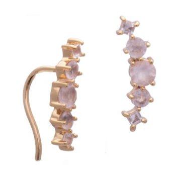 Valli Rose Quartz Earrings
