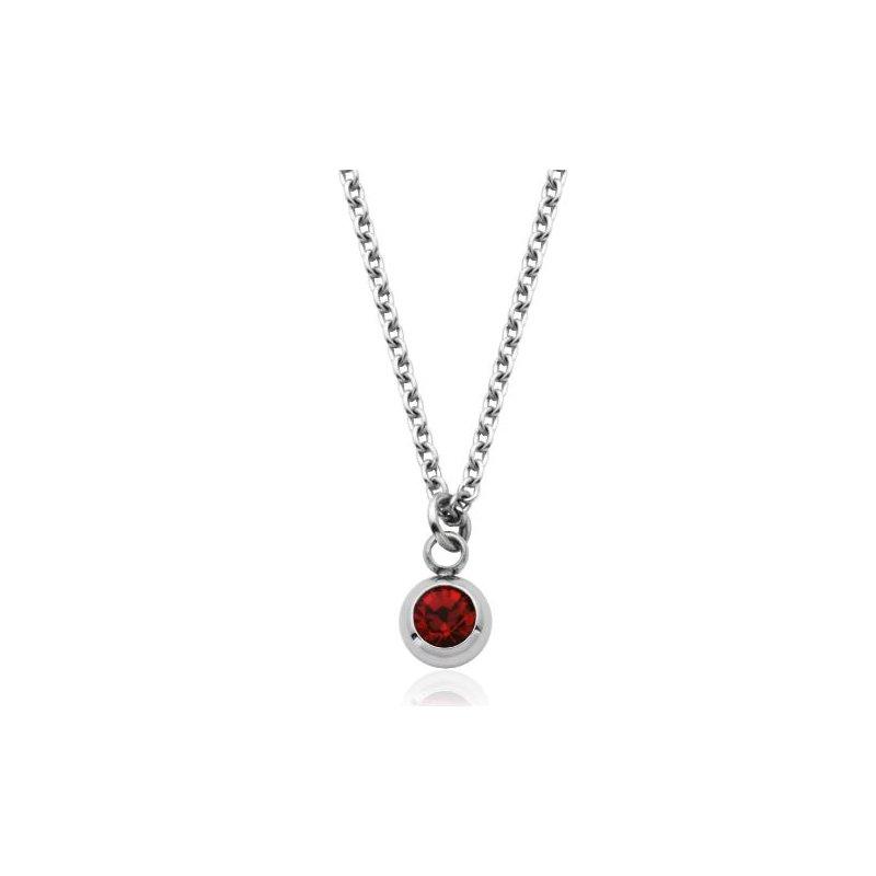 STEELX July Birthstone Necklace
