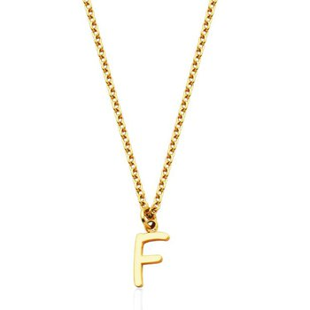 'F' Necklace