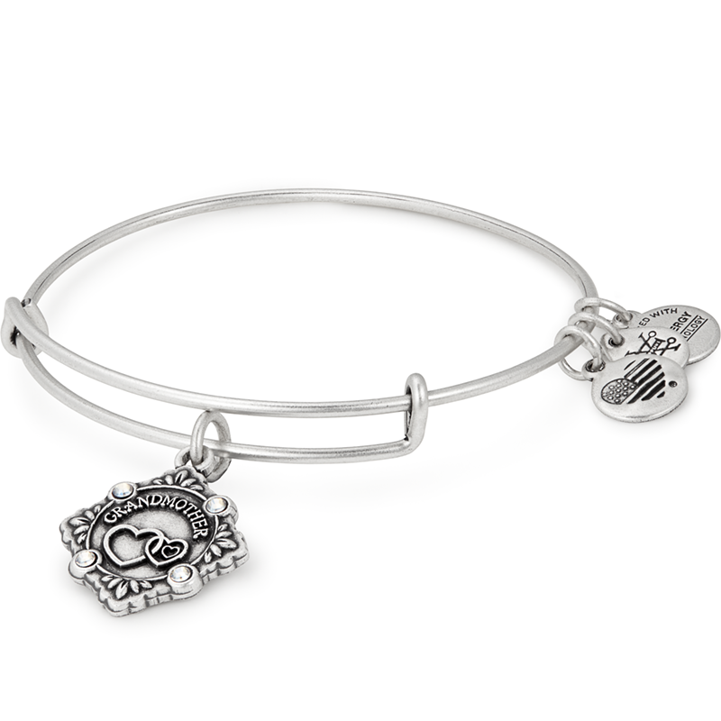 "Alex and Ani ""Because I Love You Grandmother"" Bangle"