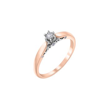 Round Brilliant Solitaire Bridal Ring