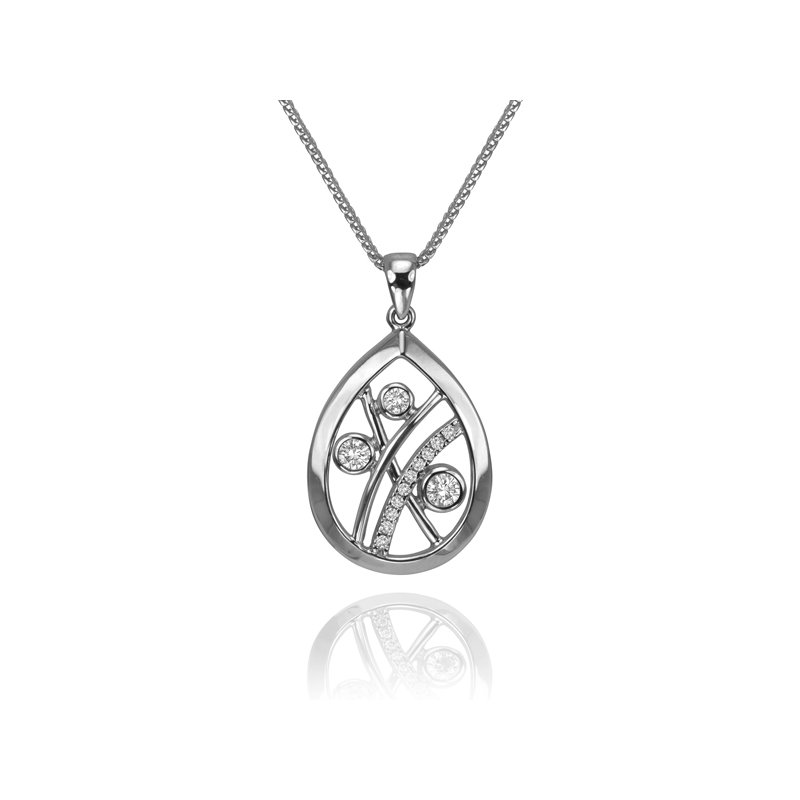 Max Strauss Diamond Pendant