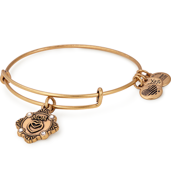 """Because I Love You Mom"" Bangle"