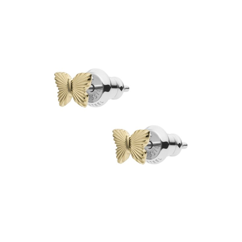 Fossil Butterfly Studs