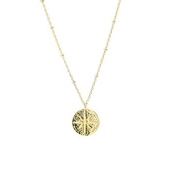"""Atmosphere"" Gold Necklace"