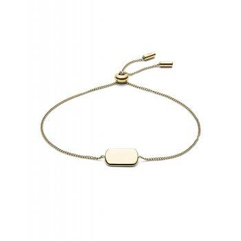 Gold Tone ID Bracelet