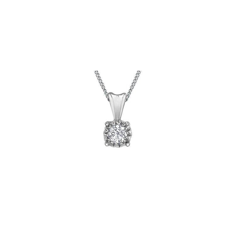 D of D Signature Diamond solitare pendant