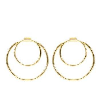 Fibonacci Hoop Earrings