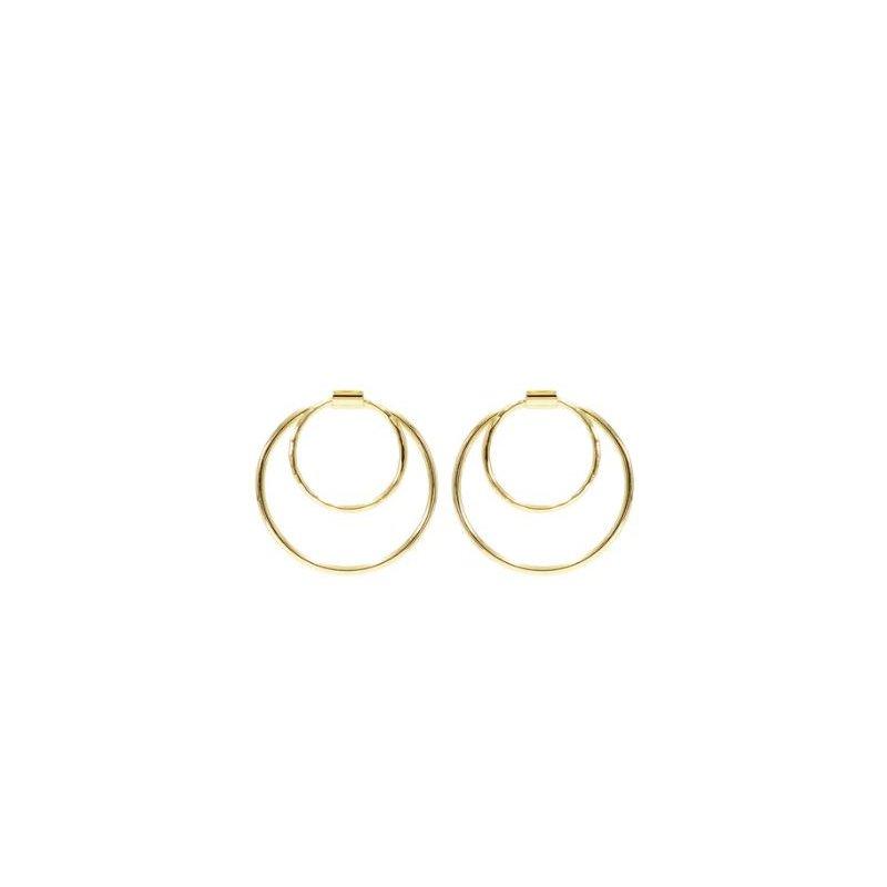 eLiasz and eLLa Fibonacci Hoop Earrings