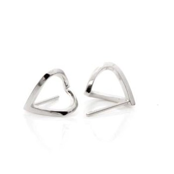 "Silver ""Wrap"" Earrings"