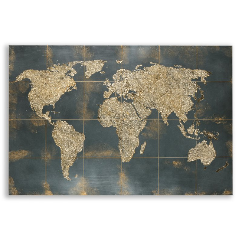 """Facet Gallery """"Map of the World"""""""