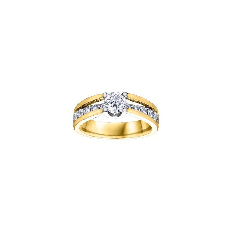 Maple Leaf Diamonds Engagement Ring