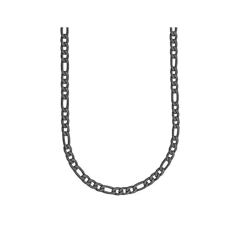 STEELX Black Figaro Chain