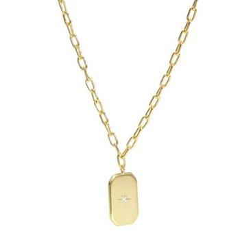 """""""Romantique"""" Gold Necklace"""