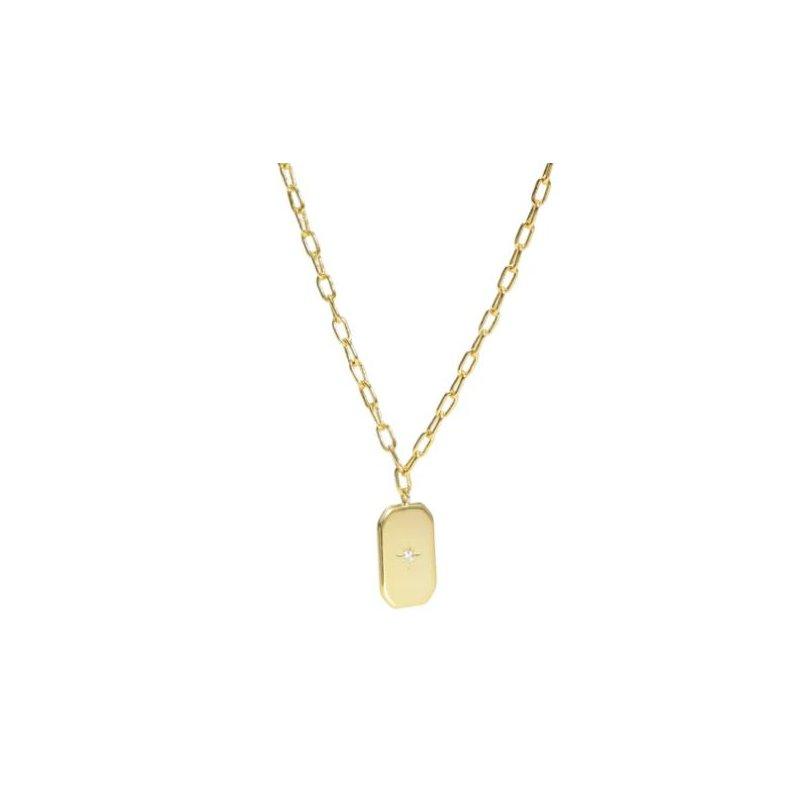 """eLiasz and eLLa """"Romantique"""" Gold Necklace"""
