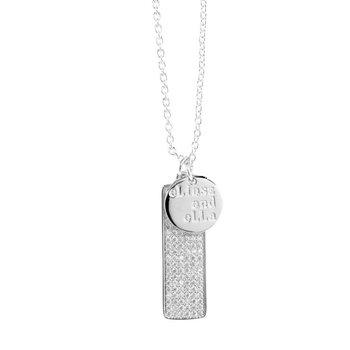 Silver Mileon Necklace