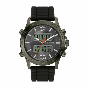 Men's Caravelle New York Silicone Watch