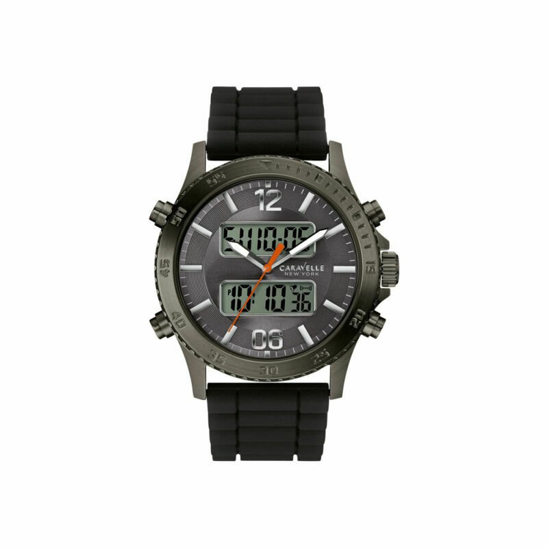 Caravelle Men's Caravelle New York Silicone Watch