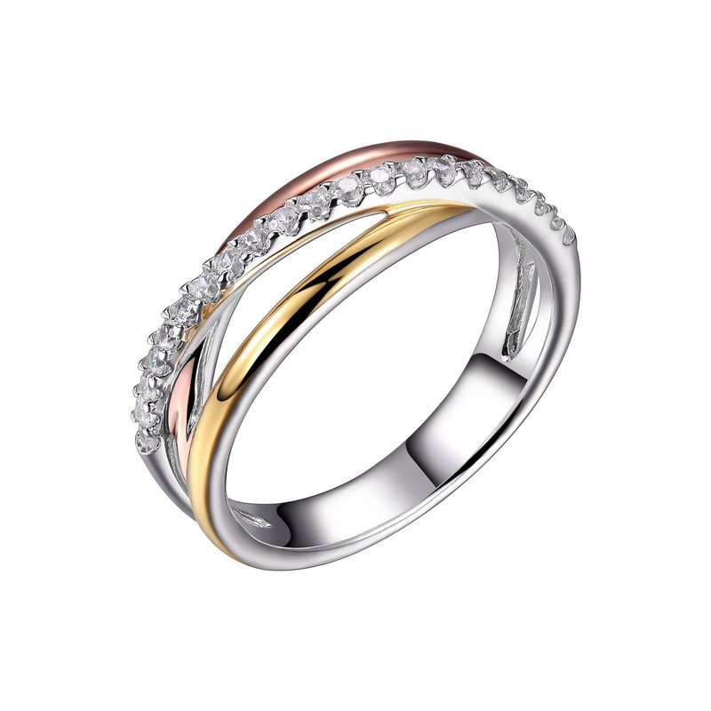 Reign Tri Tone Ring