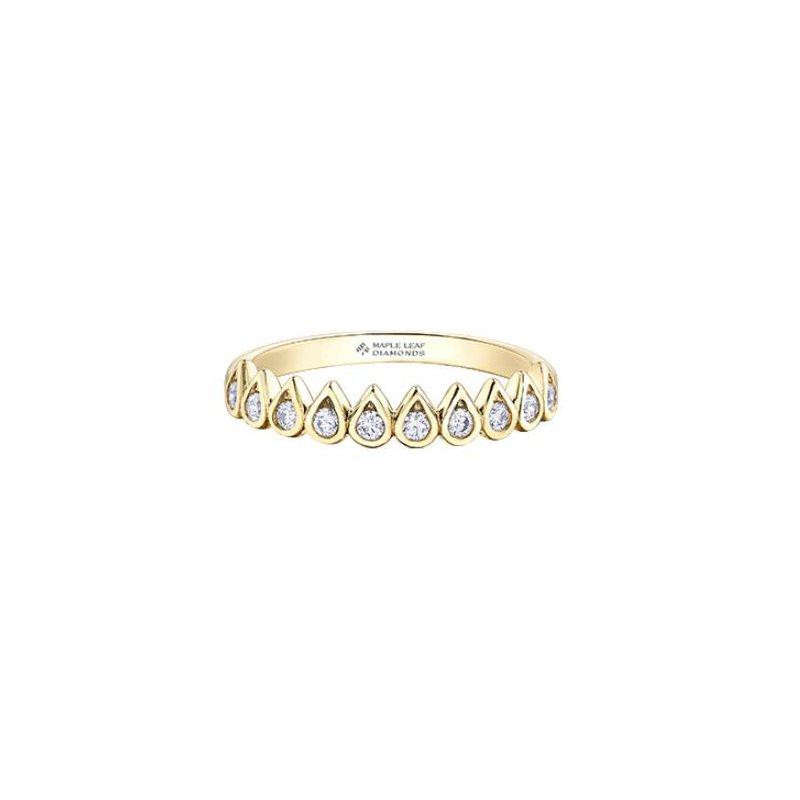 Maple Leaf Diamonds Stackable Diamond Ring