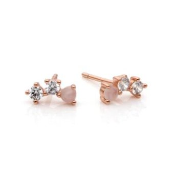 "Rose Gold ""Illuminate"" Earrings"