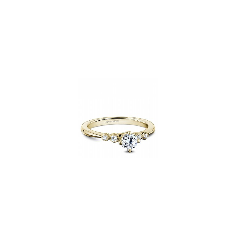Noam Carver Round Brilliant Bridal Ring