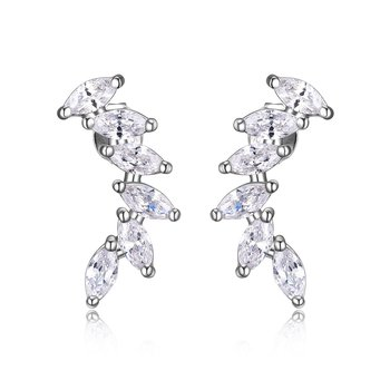 CZ crawler earrings