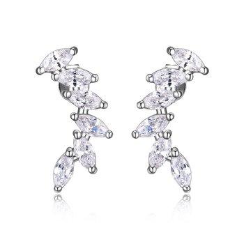 CZ crawler earrings