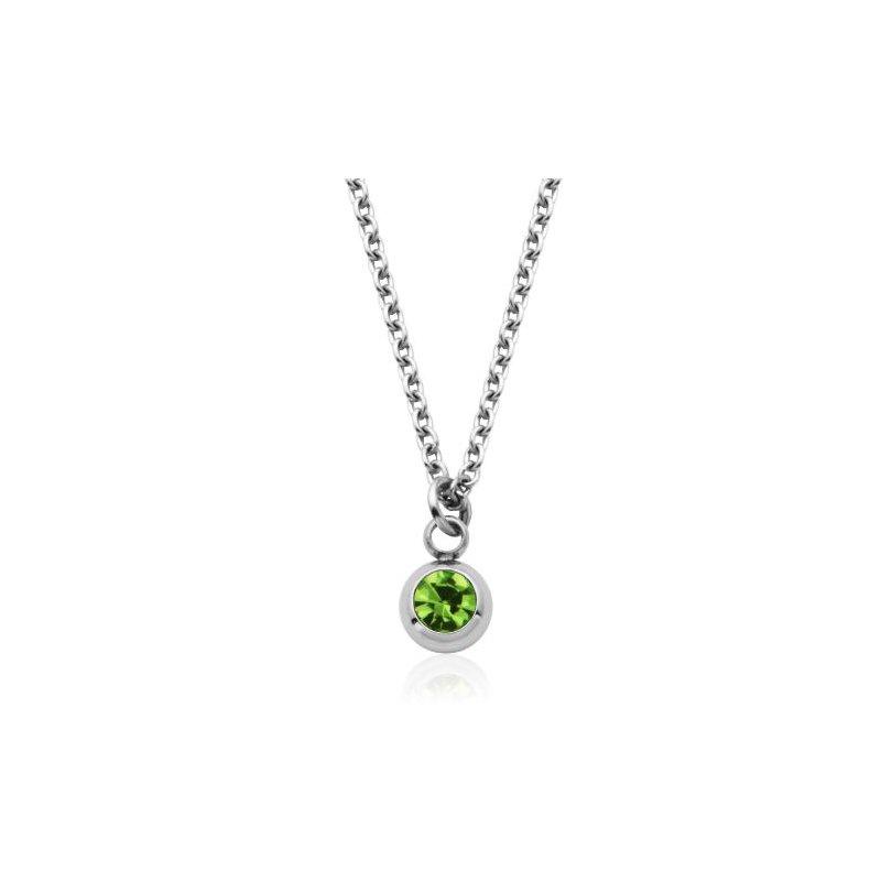STEELX August Birthstone Necklace