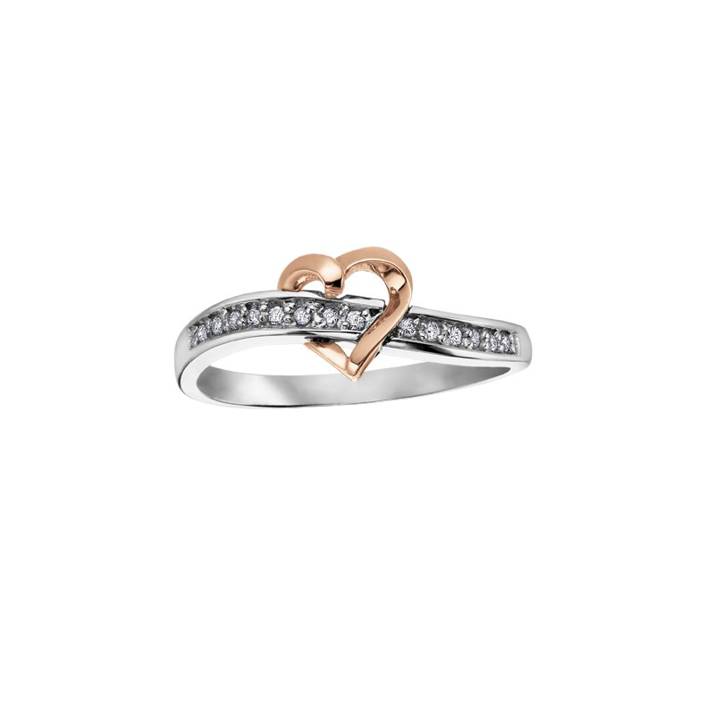 D of D Signature Diamond Heart Ring