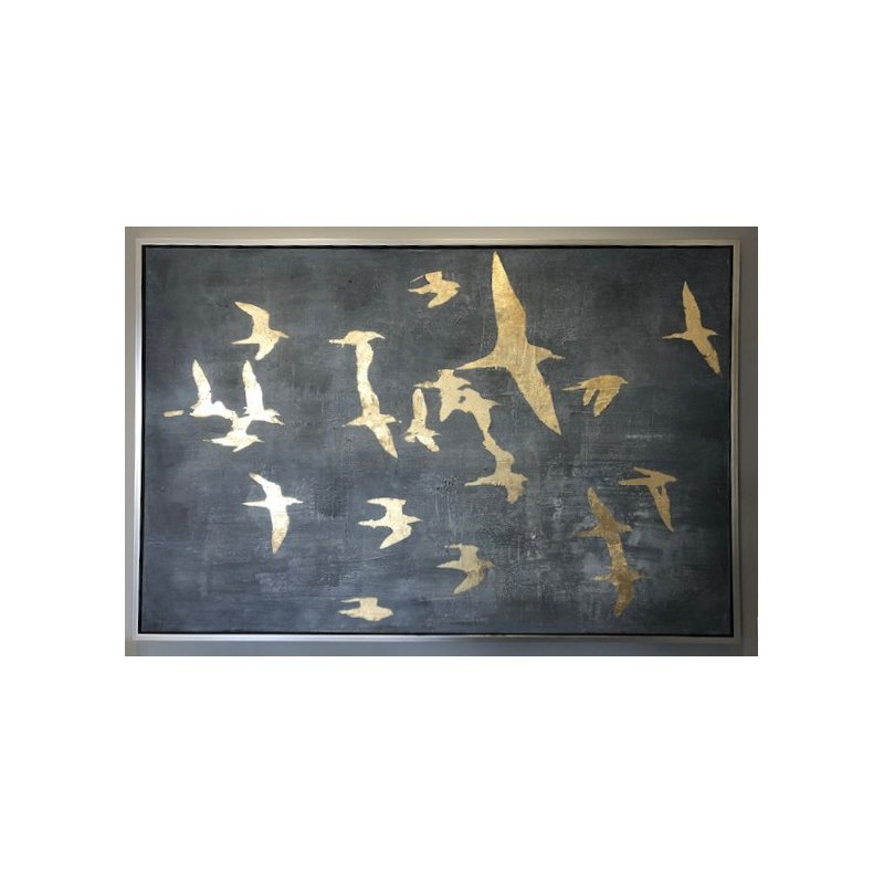 """Facet Gallery """"Silhouettes in Flight"""""""