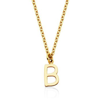 """""""B' Necklace"""