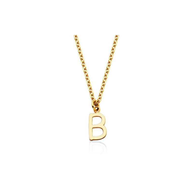 """STEELX """"B' Necklace"""