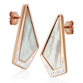 Mother of Pearl CZ Earring RPG